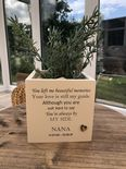 Personalised Flower / Plant Pot In Memory Of Loved One NANA GRAN NAN Or ANY NAME - 333291661563